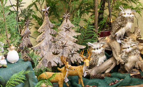 Eulen in Winterlandschaft, Zauberhafte Ideen Forchheim