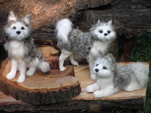 Wolfsrudel aus Naturfell - Zauberhafte Ideen Forchheim